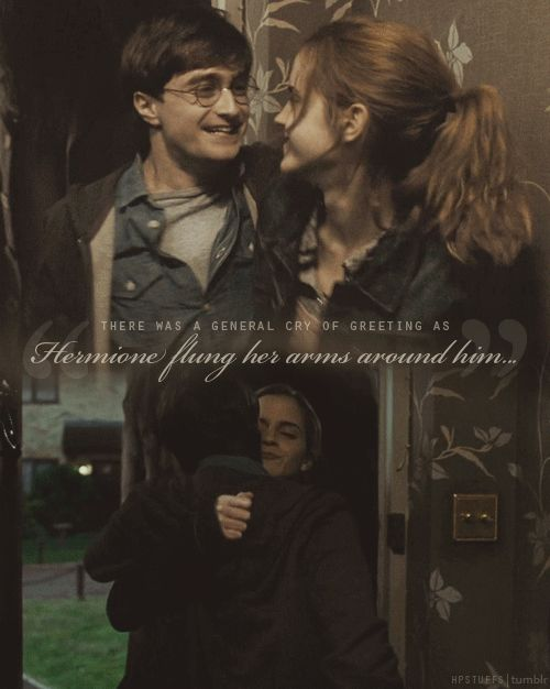 DEATHLY HALLOWS, HARRY POTTER, HARRY AND HERMIONE