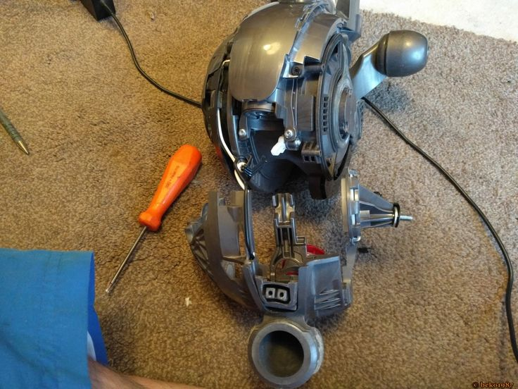 An Epic Dyson Dc40 Strip Down And Rebuild Topic With