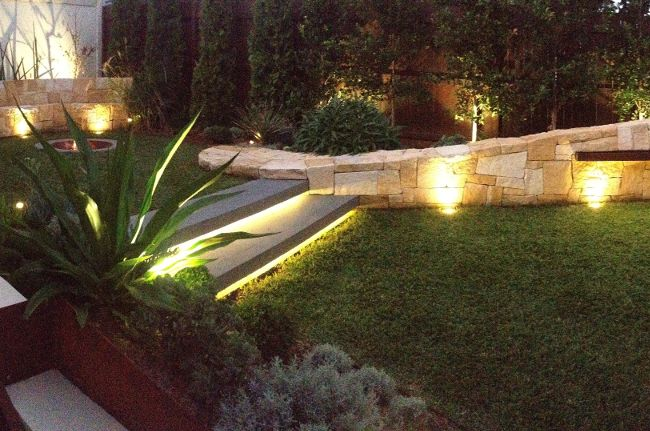 A sophisticated lighting design to help enhance the beauty of this Sydney garden. See more about this project and more at www.impressionslandscape.com.au