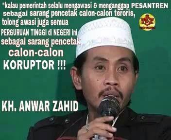 KH Anwar Zahid