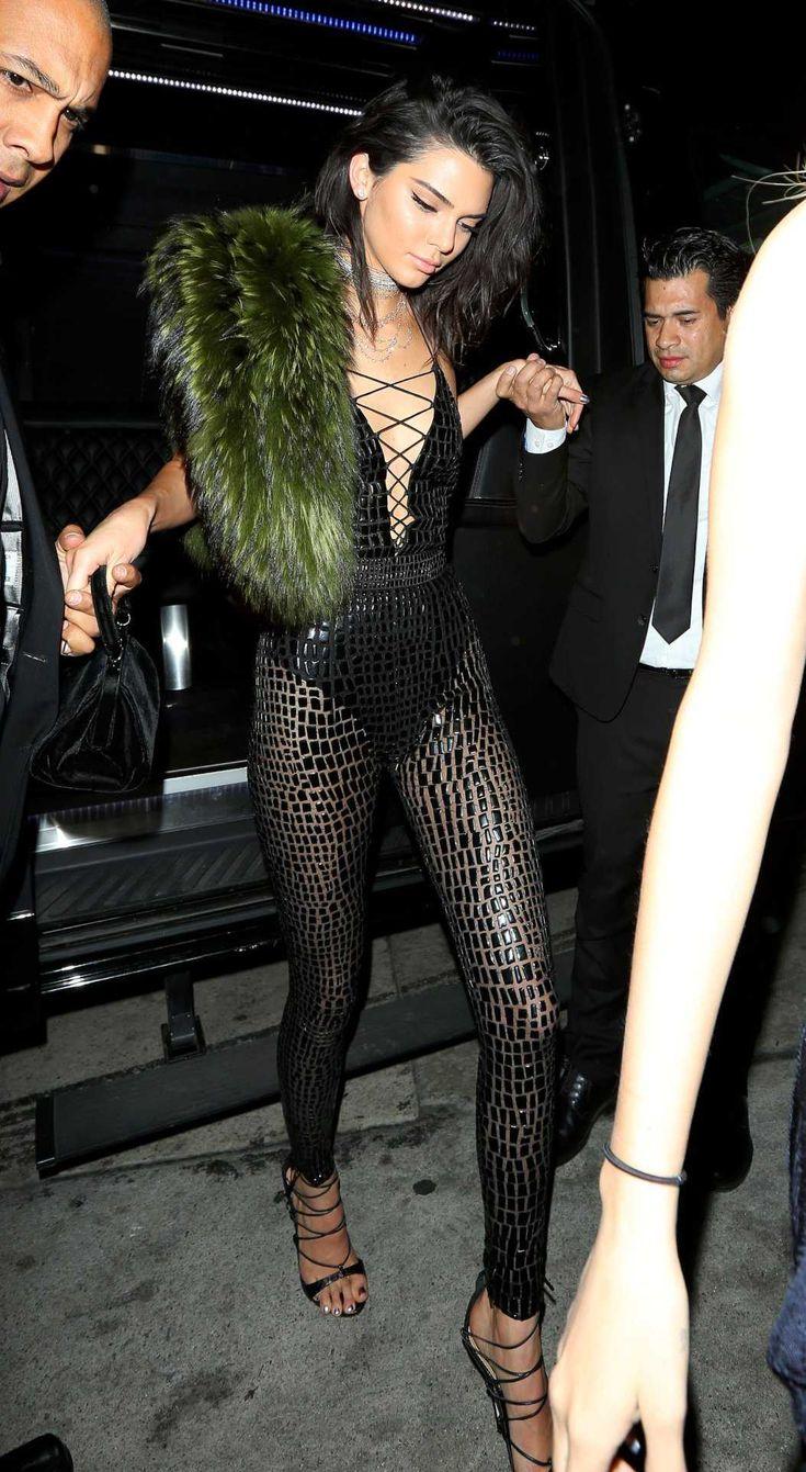 Kendall Jenner le 21ème fête d?anniversaire chez Catch à Los Angeles - Photos Kendall Jenner