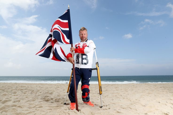 Gay paralympian to fly the flag for Team GB