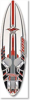 Mijn eerste windsurfboard jp slalom 109 super sport