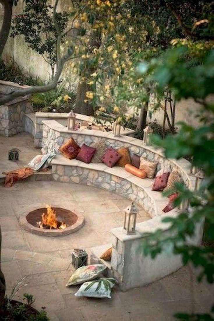 70 Einfache Diy Outdoor Feuerstelle Und Gemutliche Sitzecke Ideen Diyfirepit 70 Einfache Diy Landschafts I 2020 Bakgard Eldstad Utomhus Tradgardsarbete Baksida