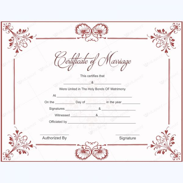 Marriage certificate templates 50 pinterest editable marriage certificate template marriage card mrriagecard gift template marriagetemplate yelopaper Images