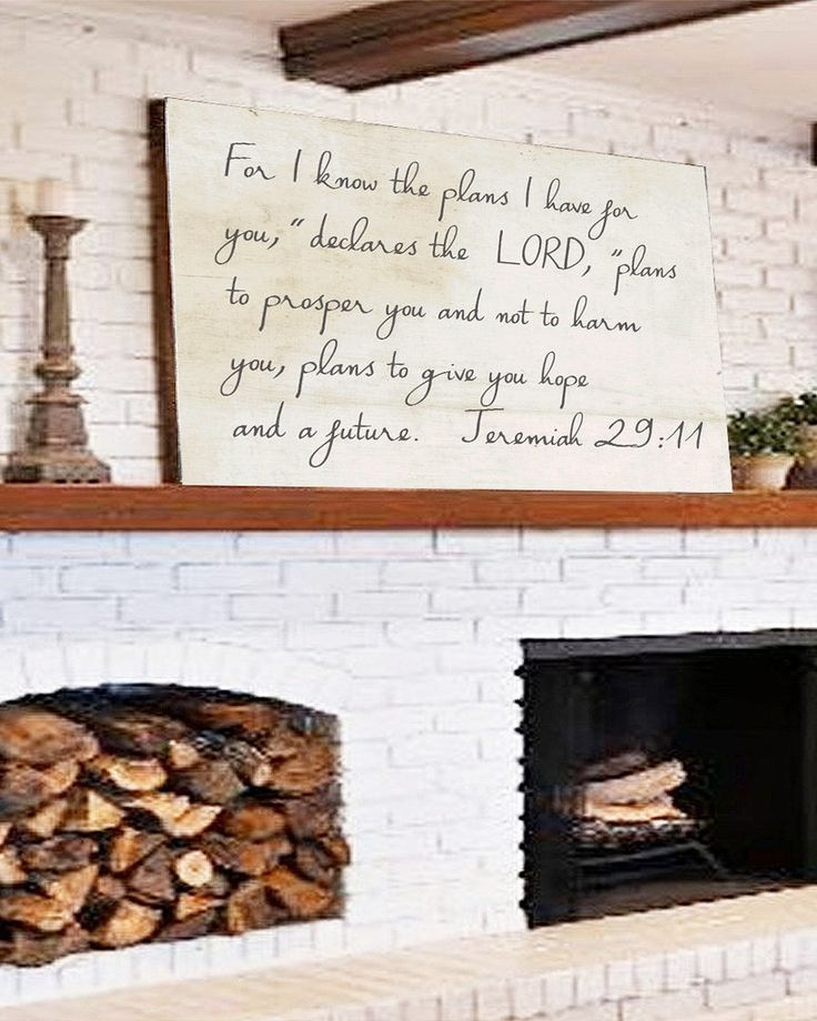 For I know the Plans I have for you Declares the Lord , Farmhouse Sign? Our farmhouse scripture canvas sign is sure to give you the fixer upper styled home. We know you look high and low for the perfe