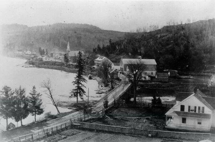 Wakefield, Quebec ... prior to 1887