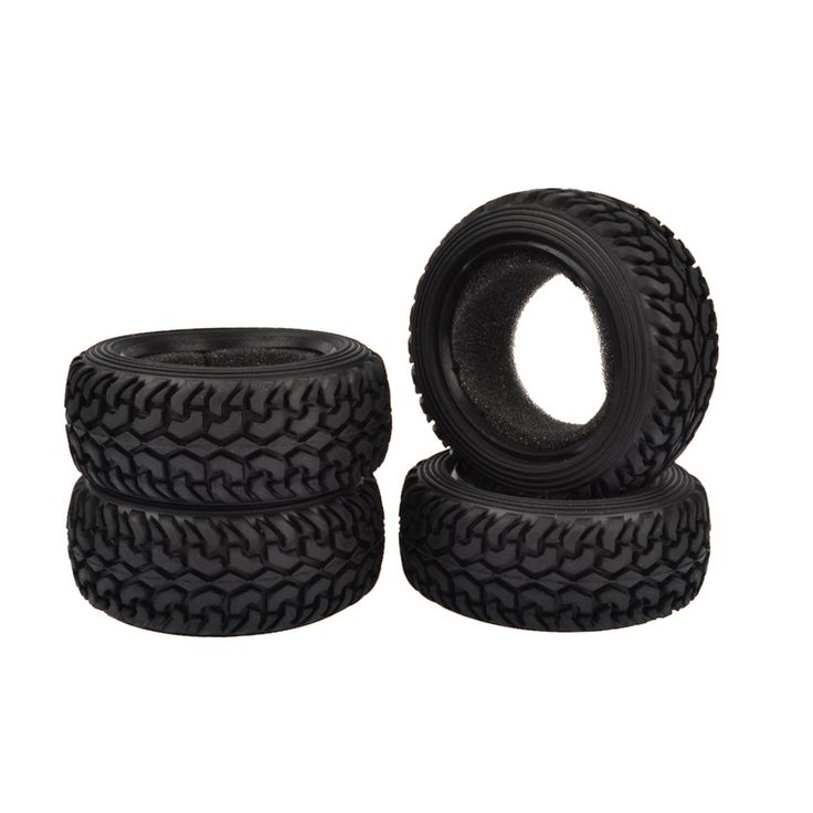 4PCS High Performance RC Rally Car Black Grain Rubber Tyre Tires for 1:10 4WD RC On Road Car Traxxas Tamiya  HPI Kyosho HSP. Yesterday's price: US $15.20 (12.45 EUR). Today's price: US $9.27 (7.65 EUR). Discount: 39%.