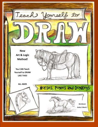 Horses Ponies And Donkeys Research Handbook Art Science And Creative Writing Workbook Teach Yourself To