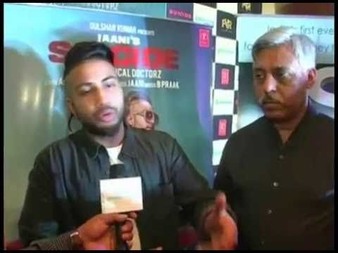 Sukhe Launches Sabakuch Music | SUICIDE latest punjabi song
