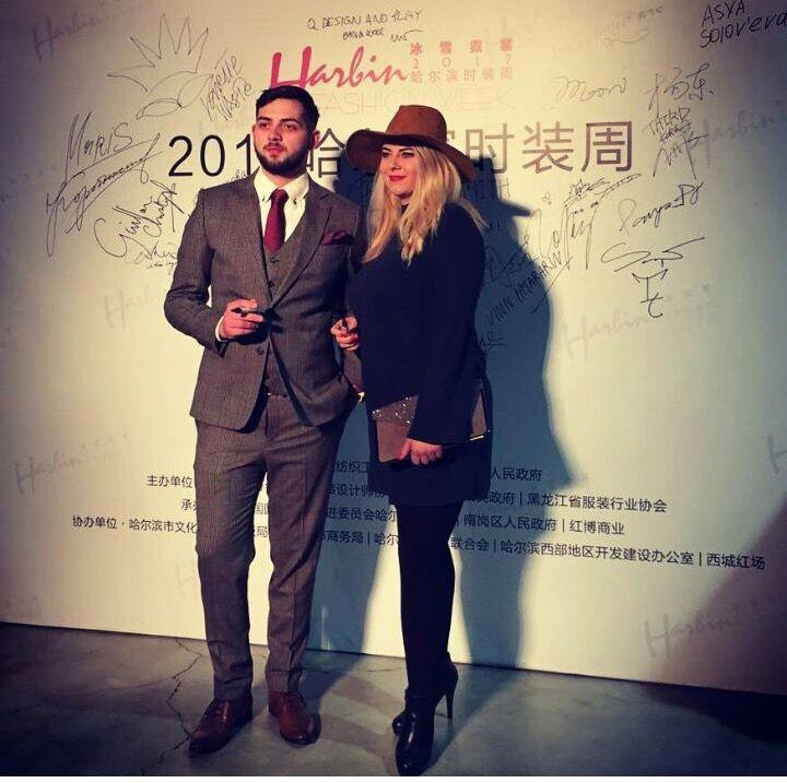 Nicollas Berenique at Harbin Fashion Week 2017 - Nikoleta Kosťuová, Patrik Badó