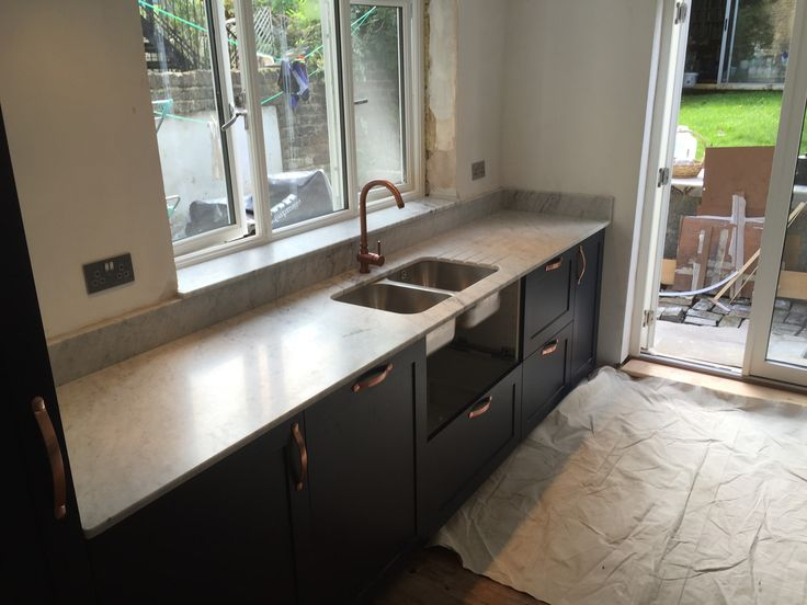 More luxury marble kitchen worktops you can find at:  https://www.jrmarble.co.uk/our-work  #marble #worktops #home #decor #interior