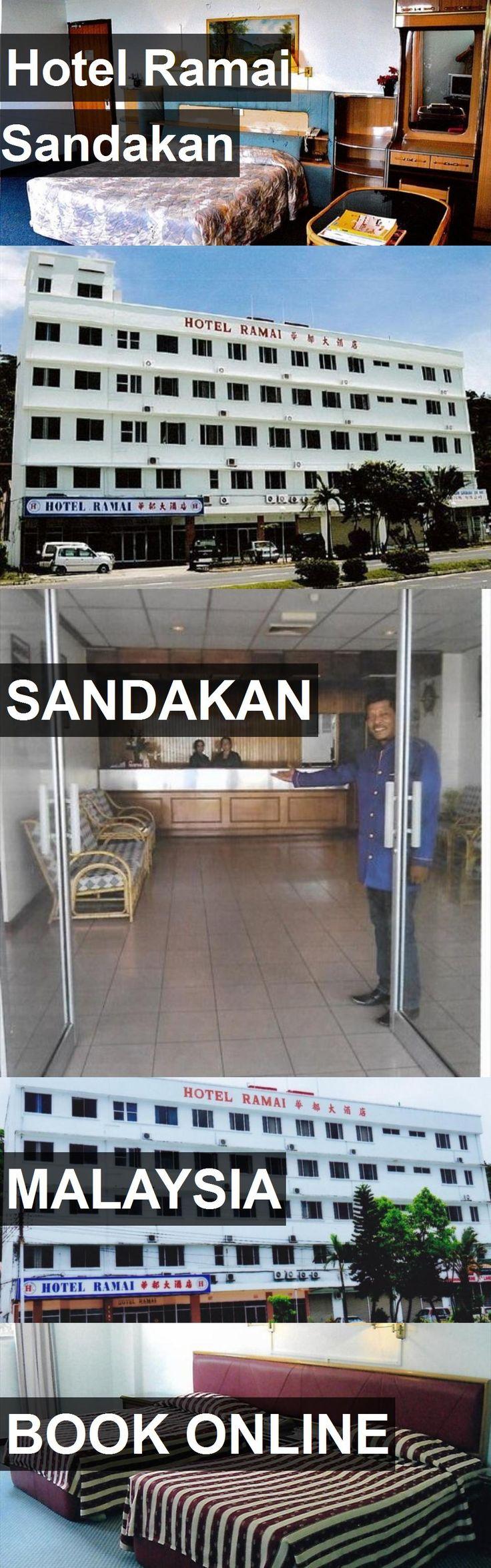 Hotel Hotel Ramai Sandakan in Sandakan, Malaysia. For more information, photos, reviews and best prices please follow the link. #Malaysia #Sandakan #HotelRamaiSandakan #hotel #travel #vacation