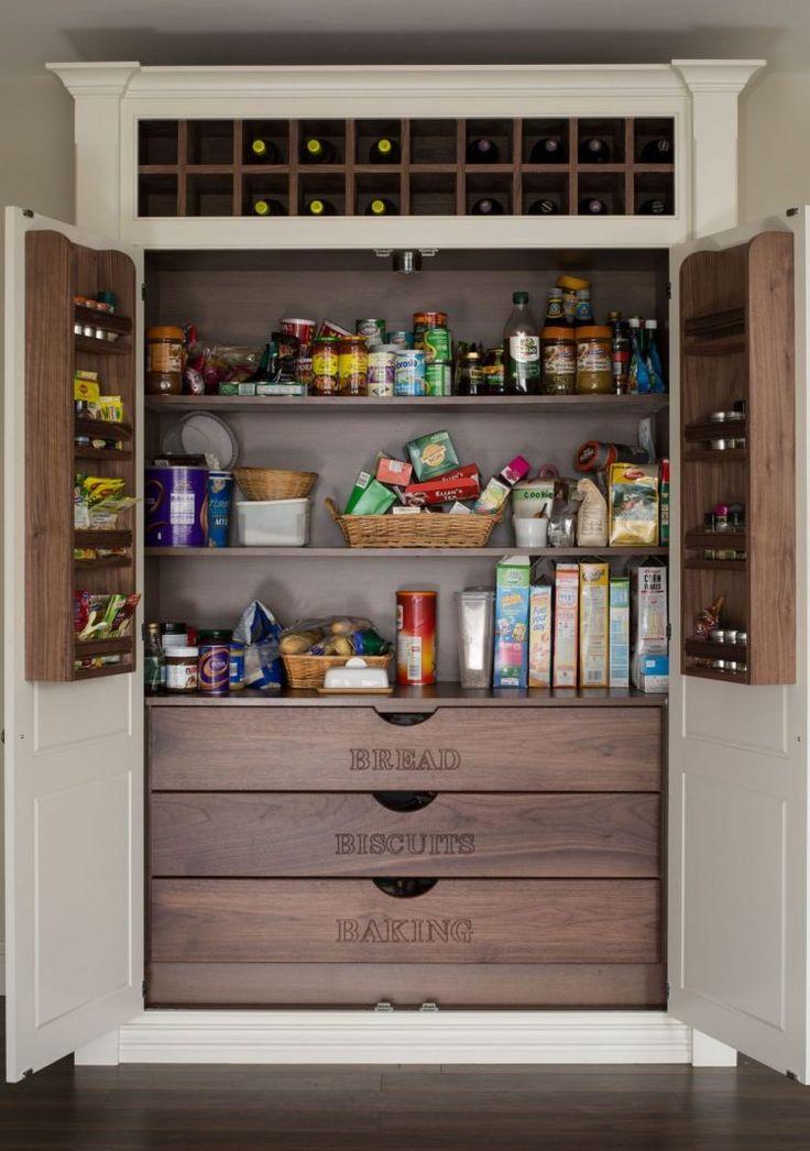 47 Cool Kitchen Pantry Design Ideas