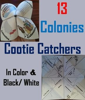 The Thirteen Colonies Activity (Colonial America Unit)