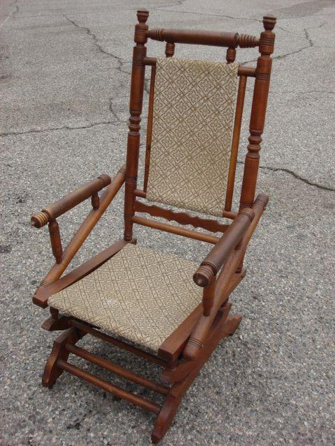 Antique Rocking Chair Victorian Antique Furniture  Rocking Chair ...