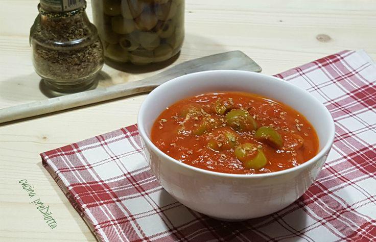 Sugo alle olive verdi per condire la pasta | cucina preDiletta