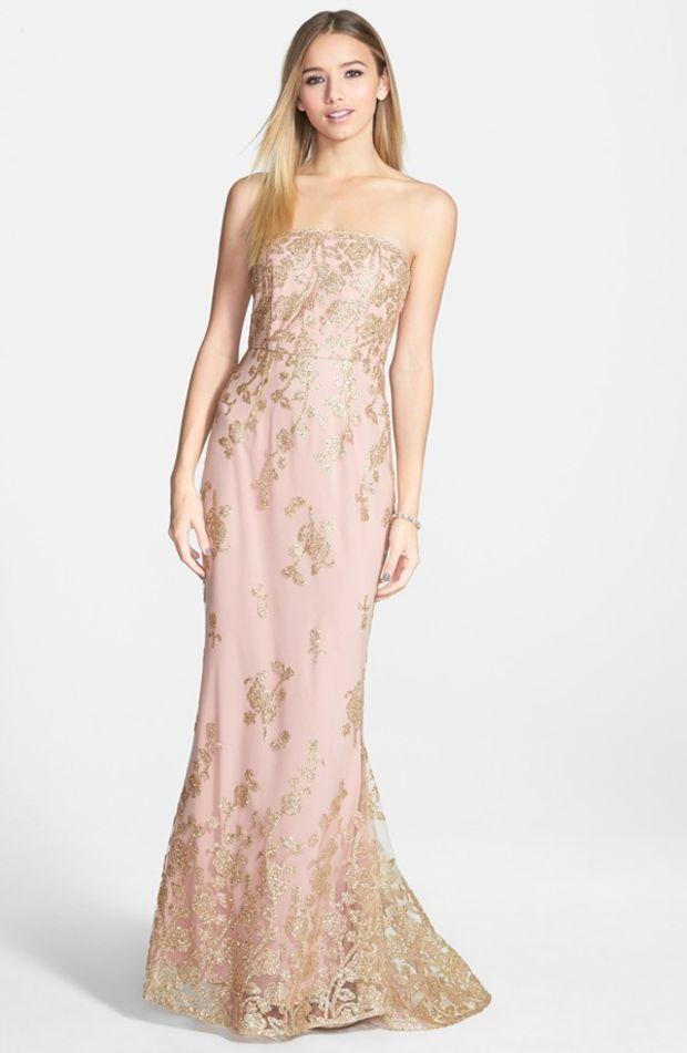 11 best Blush Bridesmaid Dresses images on Pinterest | Brides ...