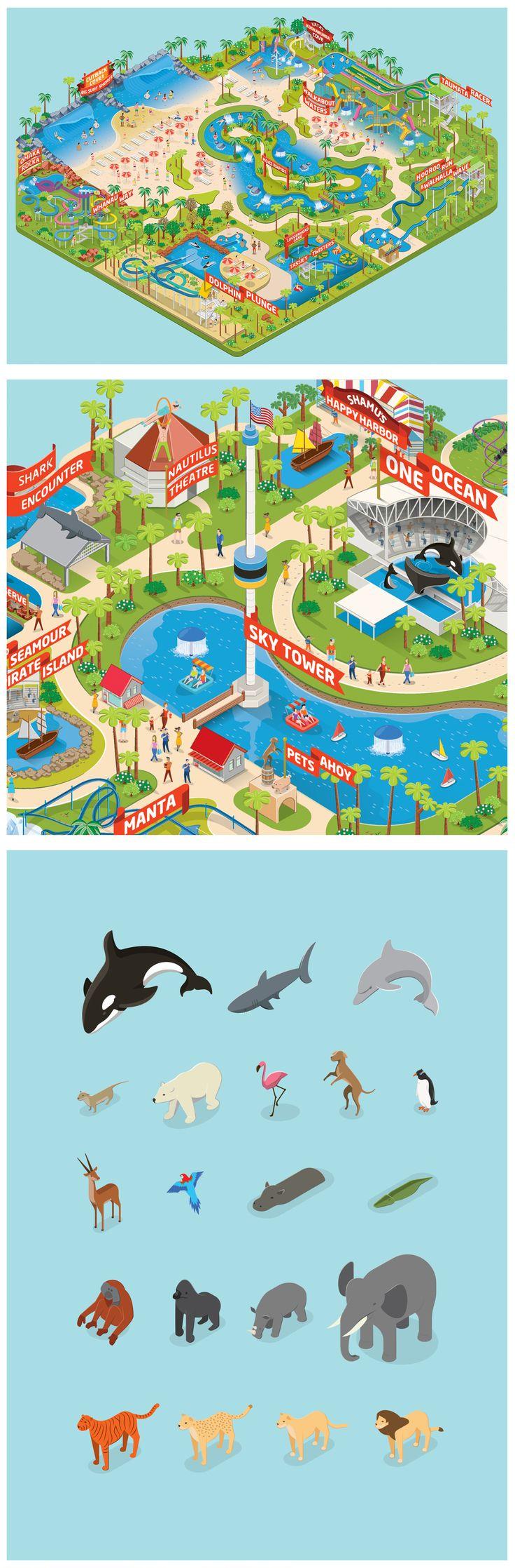 Sea World Orlando #map