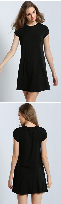 Black t shirt jersey dress - 1639 Best Little Black Dress Images On Pinterest Little Black Dresses Short Dresses And Clothes