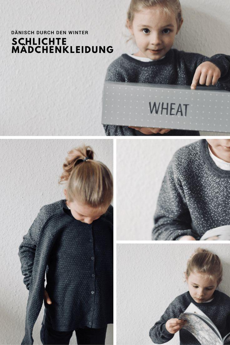 Mode für Kinder. Mit WHEAT und Move by Melton durch den Winter. Dänisch, klar und zeitlos.