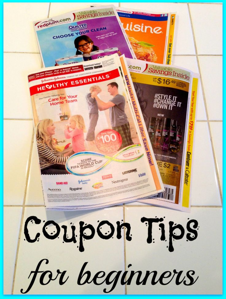 Coupon Tips for Beginners!!