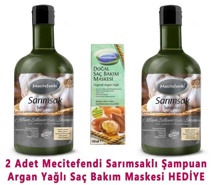 Mecitefendi Garlic Shampoo 2pcs Mask With Gift Www T Garlic