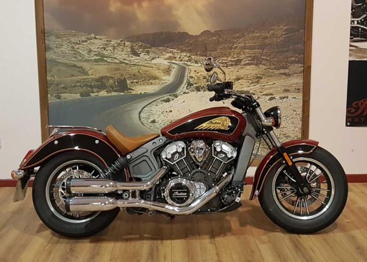 Indian SCOUT 2TONE PAINT TheCustomMotorcycle.co.uk