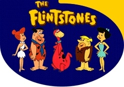 Watching the Flintstones every day at lunch. Remember that?