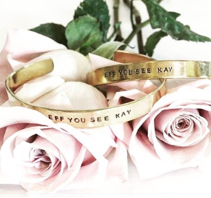 #effyouseekay.... this cuff makes bad words totally work appropriate. Get yours now at GageHuntley.com 📸 Apple & Oak Nashville #gagehuntley #jewelry #outfit #style #fashion #boutique #ootd #accessories #design #lookoftheday #blog #tattoo #mermaid #stamped #picoftheday #babes #fuck #inspirational #gold #metals #currentmood #boss #rings #bitches #motivation #brains #kindaclassy