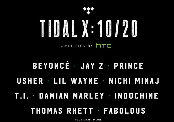 Jay Z, Beyoncé and Nicki Minaj Headline Tidal's Massive Celebratory NYC Concert