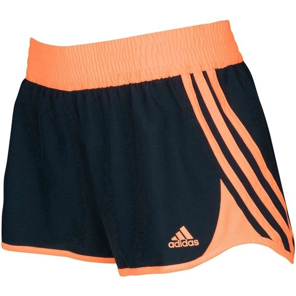 adidas Curve Shorts Women's ($25) ❤ liked on Polyvore featuring activewear, activewear shorts, adidas sportswear, adidas and adidas activewear