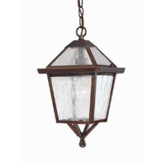acclaim lighting 7616abz charleston one light outdoor hanging lantern