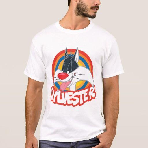 Sylvester Icon. Producto disponible en tienda Zazzle. Vestuario, moda. Product available in Zazzle store. Fashion wardrobe. Regalos, Gifts. #camiseta #tshirt #LooneyTunes