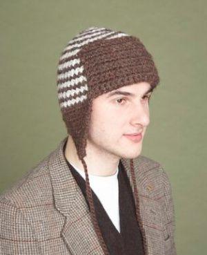 Crochet Earflap Hat Patterns For Beginners : Image of Aarons Hat Trick #3 Crochet - Hats / crochet ...
