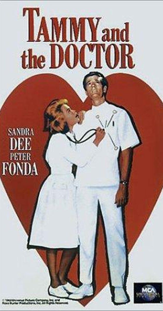 Directed by Harry Keller.  With Sandra Dee, Peter Fonda, Macdonald Carey, Margaret Lindsay. When Mrs. Call's heart condition acts up, Tammy tags along in the trip to Los Angeles when the old lady is getting her surgery. Since there are no guest quarters in the hospital, Tammy gets a job in the hospital as a nurse's assistant. Peter Fonda plays Tammy's love interest, Dr. Mark Cheswick, while Adam West has a small part as Dr. Eric Hassler. This is the final entry in the canonic film...