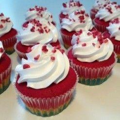 Startpakke til regnbue cupcakes