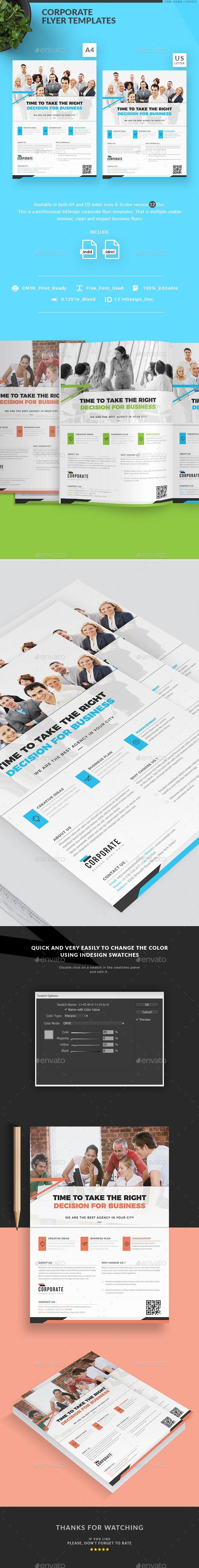 flyer templates doc