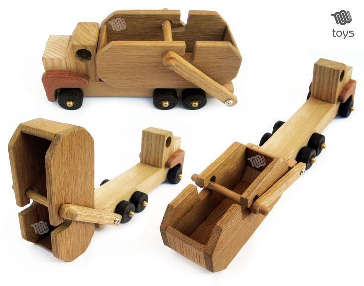 Autocarro con cassone ribaltabile rimovibile giocattoli in