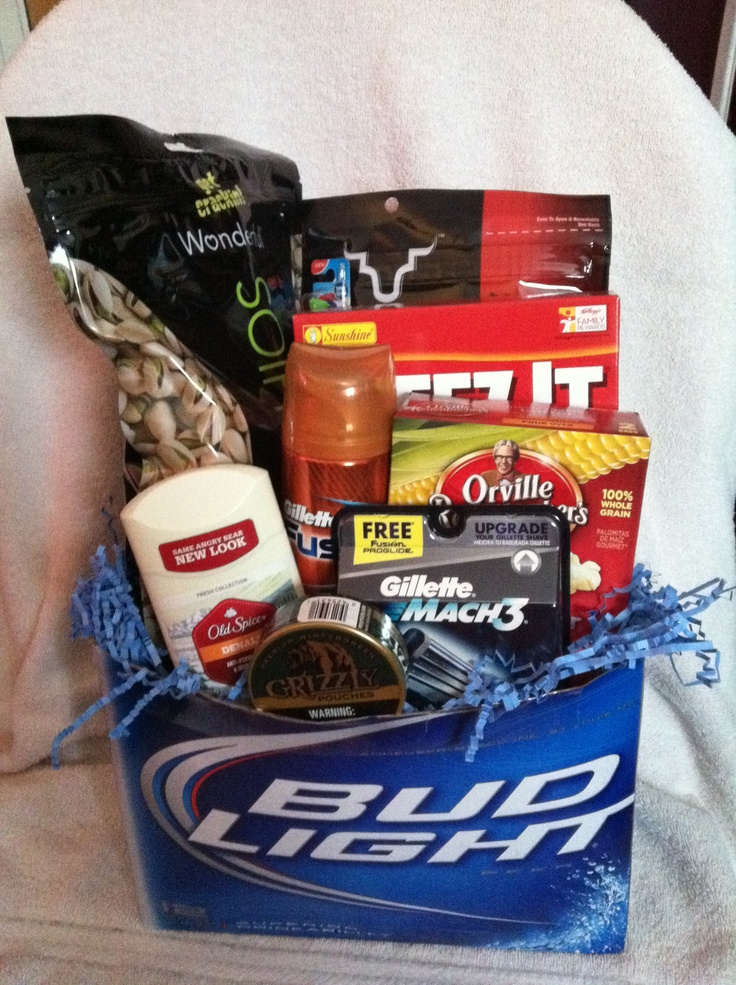 12 best gift ideas images on pinterest easter baskets easter mens easter basket negle Gallery