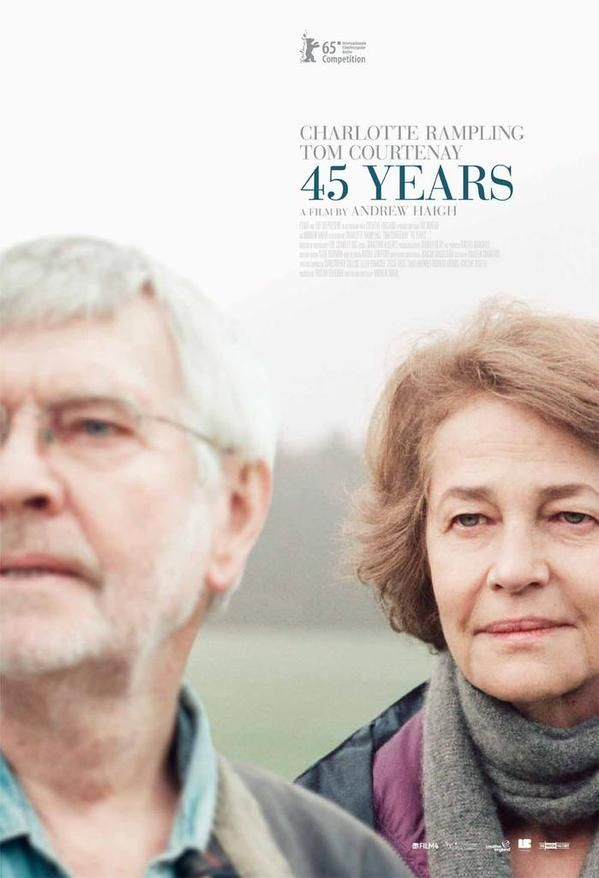 45 Years by Andrew Haigh poster.