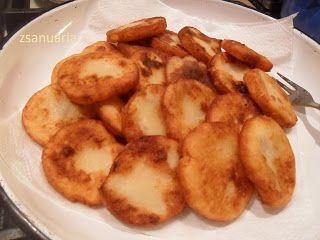 Zsanuária: Krumplis pogácsa... olajban sütve... a részletes recept