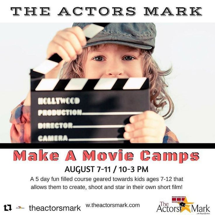 Movie Directing Camps For Kids