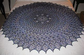 Monica's Shawl by Meeli Vent. SO pretty, delicate, where would I wear it?? Everywhere!  And the pattern is FREE on Ravelry!!!!