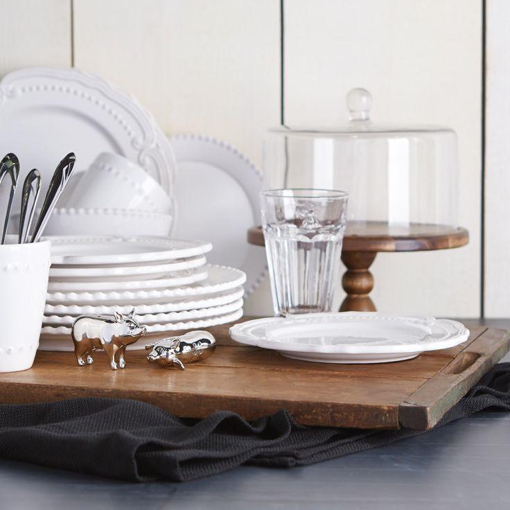 White dinnerware: White Dinnerware