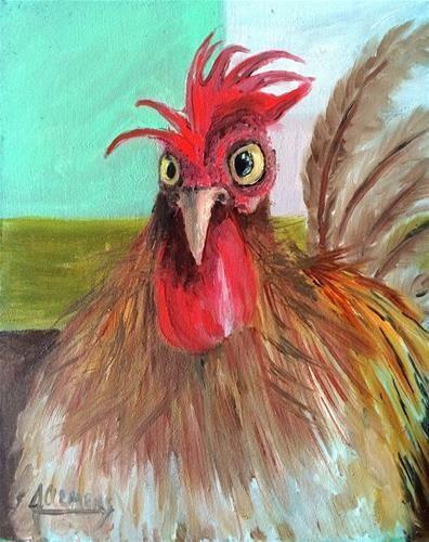 """""""Henrietta hat endlich den Coop geflogen"""" – Jolynn Clemens – chicks – #chicks #Clemens …   – Keramische Kunst"""