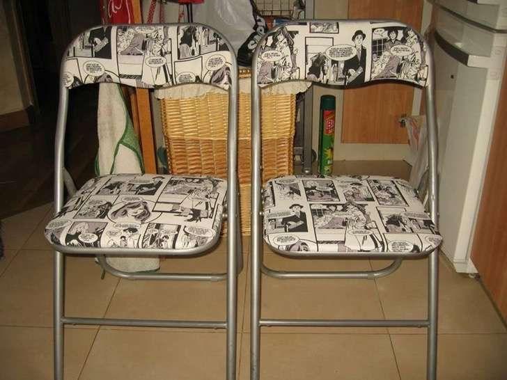 Convierte esas sillas viejas y rotas en nuevas y hermosas for Reciclar estanterias viejas