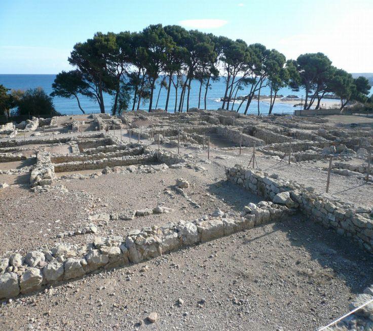 Ruinas de Ampurias Gerona Spain.