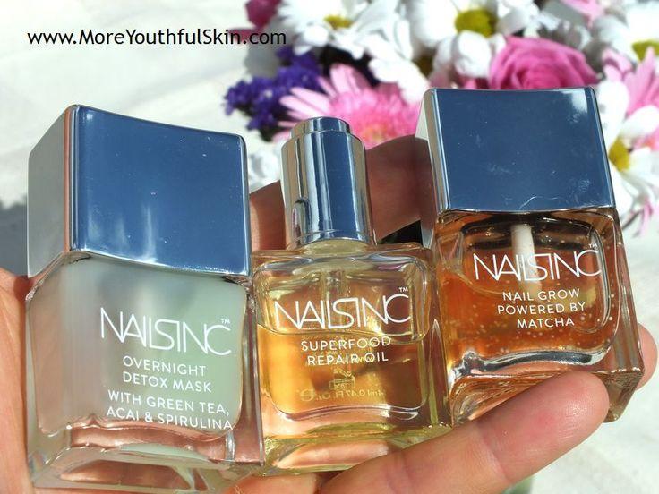 The Best Nail Cosmetics: NailsInc http://moreyouthfulskin.com/en/nailsinc/ #follow #blogger #splitting nails #dry nails #oil for nails #acrylic nails #nail cosmetics #NailsInc #Overnight Detox Mask #Superfood Repair Oil #Nail Growth Treatment