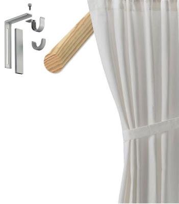 17 Migliori Idee Su Extra Long Curtain Rods Su Pinterest